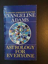 "FIRST PRINTING 1972 - ""ASTROLOGY FOR EVERYONE"" BY EVANGELINE ADAMS"