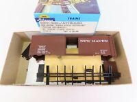 HO Scale Athearn Bev-Bel Kit 1732-2 NH New Haven 40' Single Door Box Car #34182