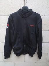 Veste Blouson TEAM ADIDAS rétro vintage noir jacket giacca S