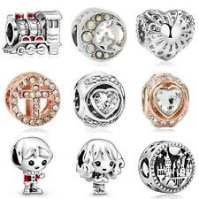 Charm Beads Wholesale Crystal Fit925 Sterling Bracelet Necklace Pendant European