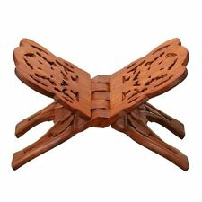 NEW Quran Holder Book Stand Rihal Rehal Wooden Carved Eid FREE SHIPPING