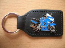 Schlüsselanhänger Kawasaki ZZR 1200 / ZZR1200 Modell 2002 blau Motorrad 0868