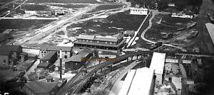 1899 Coney Island Birds Eye View Towards Bay Ridge Glass Photo Negative #5