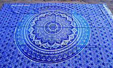 Indian Omber Wall Hanging Twin Tapestries Bedspread Throw Ethnic Decor New Art