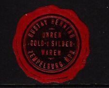 41956/Sigillo Marchio-ORO-U. argento erano-Gustav Henning-zempelburg/westp