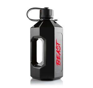 Alpha Bottle XXL 2400ml Water Bottle - Eddie Hall 'Beast' Edition