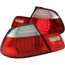 Anzo Tail Lights LED Red/Clear For 00-06 BMW 3 Series E46 Convertible/M3 #321185
