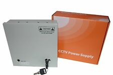 Professional CCTV Power Supply Security Box with 4 chanel output