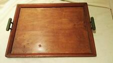 Art Deco Antique Wooden Trays