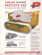 Farm Equipment Brochure - Paragon - Tractor Cab Cover Heater - 1960's (F1291)