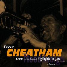 Mood Indigo: A Memorial by Doc Cheatham (CD, Viper's Nest Gold)