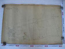 ROMA Mappa Catastale 563 Stazione Prenestina Portonaccio Tor Sapienza 1943 c