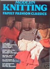 Family Fashion Classics - Machine Knit Designs