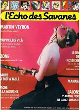 L'ECHO DES SAVANES NOUVELLE SERIE N° 36 1985 TRES BON ETAT