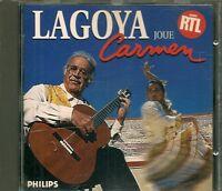 CD COMPIL 15 TITRES--ALEXANDRE LAGOYA--CARMEN DANSES / JEUX INTERDITS