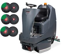Numatic TTV678/400G Aufsitz Scheuersaugmaschine Reinigungsmaschine + Treibteller