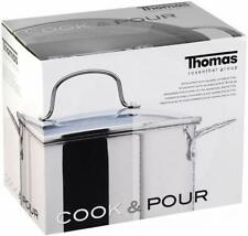 Thomas 1404905 Rosenthal Stockpot with Lid, 7.5 Litre, Silver