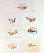 14 Congratulations Cards Greeting Wedding Engagement Pregnancy Card CONGRATS10