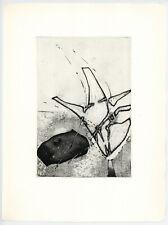 Enrique Zanartu original etching