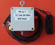 EFHW -  20/15/10 m Duo Band  400 Watt  PEP