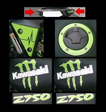 ADESIVI KIT KAWASAKI Z750 STILE MONSTER FULMINI BATTITO
