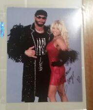 WCW Diva Gorgeous George 8x10 photo Autographed WWE Macho Man Studio Signed