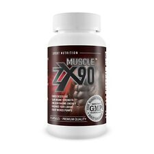 ZX90 Muscle Gain - Premium Pre Workout Supplement - UK Made 60 Capsules