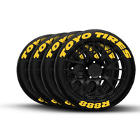 FORMULA TIRE CO White, 1.25 - P Zero Permanent Tire Lettering Kit Logo Design