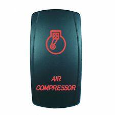 Motor Laser 12V 20A Toggle Rocker Switch RED LED AIR COMPRESSOR Lighted