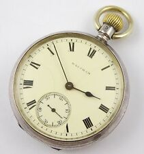 Antique 1908 Waltham Duchess Sterling Silver Pocket Watch  LAYBY AVA