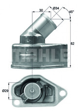 BEHR Thermostat, Kühlmittel für Kühlung TI 9 87