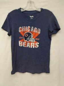 Chicago Bears Womens M Touch By Alyssa Milano Tee Shirt 022