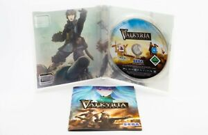 Valkyria Chronicles PlayStation 3 PS3 3rd Person Shooter Game Complete Like New