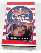 1992 Starline Americana Historic Trading Card Box (36 Packs)