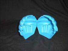 TUPPERWARE Cupcake Keepers Set Blue Pink Muffin Holder ON The Go Container Snack