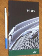 2002 Jaguar S Type original small Australian market 28 page brochure