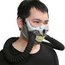Immortan Joe Half Face Gas Mask Mad Max 4 Movie Cosplay Horrible Skull Props
