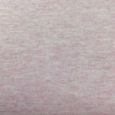 Heather Pink Stretch Knit FABRIC PRINT STRIPE Quilting Sewing