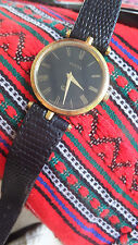 Ladies Vintage Gucci Watch ....Roman Numerals on Dial  ....Christmas 2017 Sale!