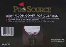 NEW Pro Source Golf Bag Rain Hood Cover - Clear W857
