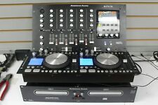 American Audio Q-Fx-19 4-Channel Mixer With Digital Fx + Dcd-Pro1000 Dual Cd
