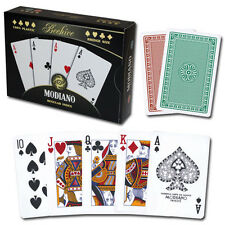 Modiano 100% plastic Beehive Series playing cards, Bridge/Regular, double deck
