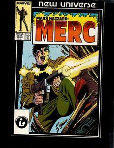 New Universe, MERC, #11, 1987, Marvel, BAG/BOARD, C963-A