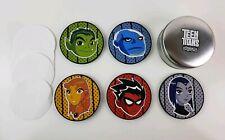 Teen Titans TV Show Press Kit - Coaster Set - Cartoon Network 2003 Complete