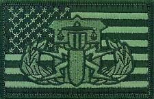 HDT Basic Bomb Squad Patch Green