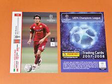 AQUILANI AS ROMA GIALLOROSSI FOOTBALL CARDS PANINI CHAMPIONS LEAGUE 2007-2008