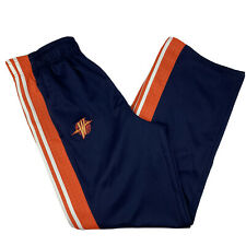 Golden State Warriors Adidas NBA Authentics Tear Away Warm Up Pants Mens Large