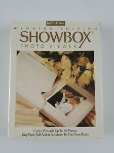 PHOTO SHOWBOX PHOTO VIEWER WEDDING EDITION 3.5X5 CYCLES 40 PICTURES NEW SEALED