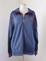 Charlotte Bobcats NBA Exclusive Blue Zip Front Men's Jacket Size S