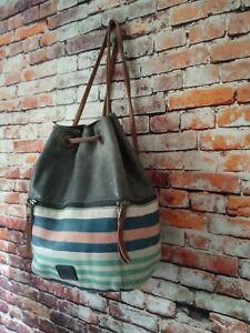 The Sak Bag Backpack Leather multicolor Work Shoulderbag Purse medium size bag